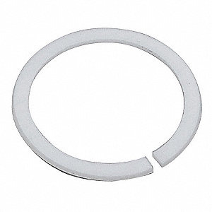 Delrin (Plastic) Split Washer, For Use With T&S Faucets