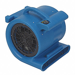 Portable Blower,1HP,120 V,3 speed