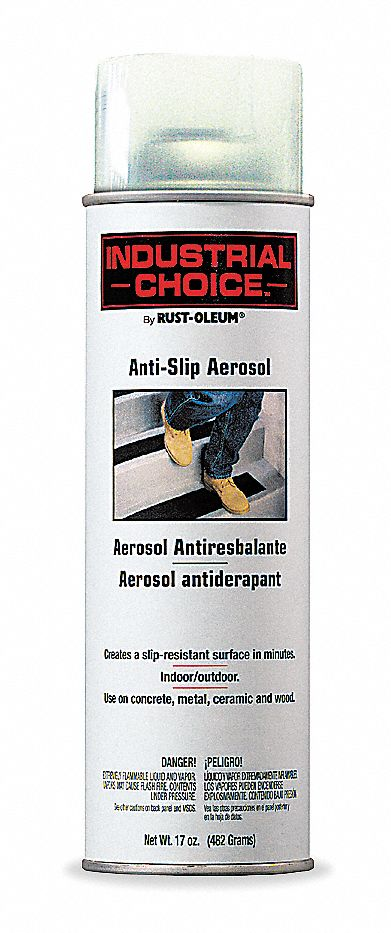 Rust Oleum Clear Anti Slip Spray Paint 14 Sq Ft
