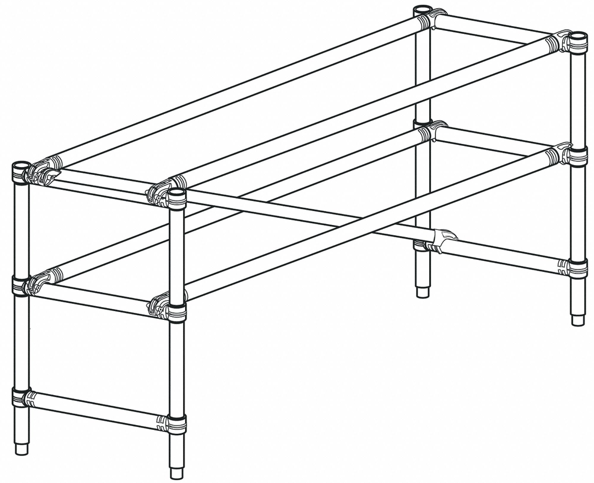 werner guard rail  42 u0026quot  overall height  29 u0026quot  overall width