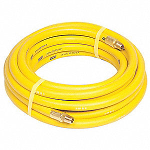50 ft. Nitrile Oil Resistant Multipurpose Air Hose, Max. Pressure: 300 psi, Yellow