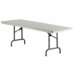 Folding Table,72 in.x30 in.x30 in.,Sand