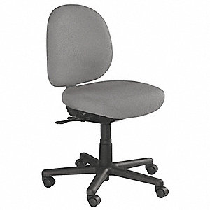 Chair,Intensive-Use,Gray,Seat 20W,Nylon