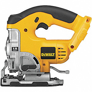 Cordless Jigsaw, Voltage 18.0 NiCd, Bare Tool (No Battery)
