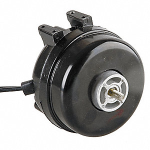 1/47 HP Unit Bearing Motor, Shaded Pole, 1550 Nameplate RPM,230 Voltage, Frame Non-Standard