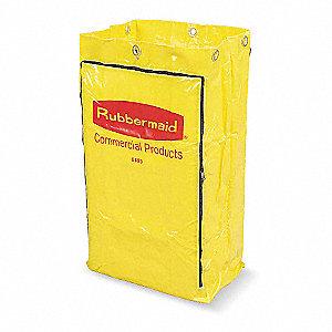 Yellow Vinyl Replacement Bag, 1 EA