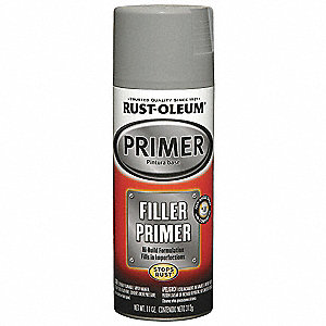 Automotive Filler Primer,Gray,11 oz.