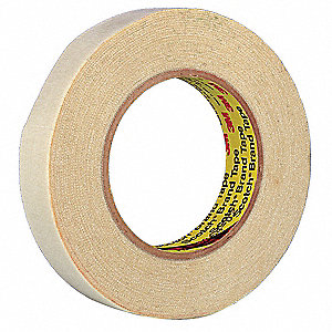 Cloth Tape,2 In x 25 ft,54 mil,Tan,Vinyl