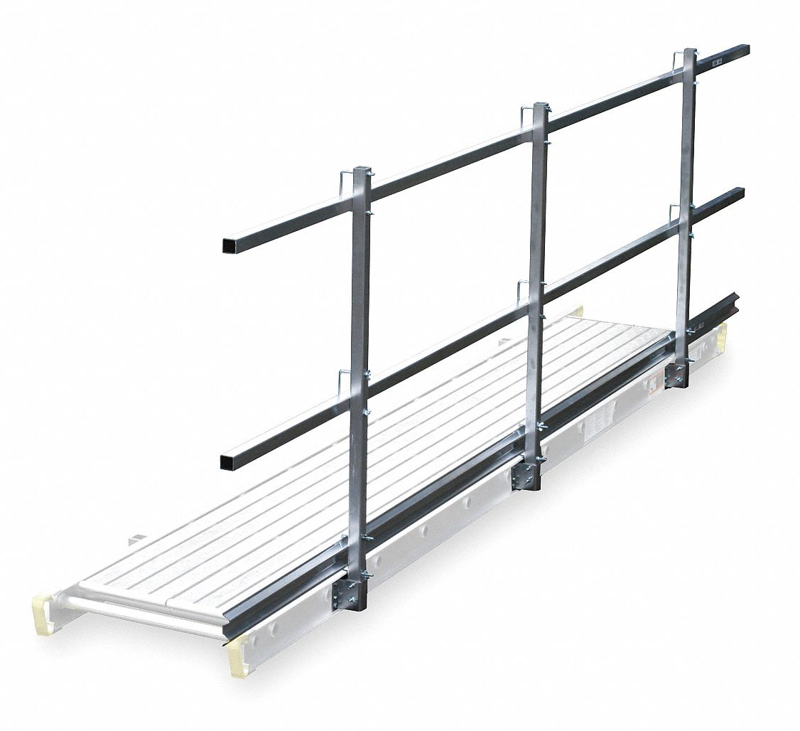 Werner Guard Rail And Toe Board System 12 Ft Overall