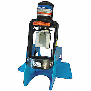 Hyd Crimping Machine,1/4 to 1 1/4 In Cap