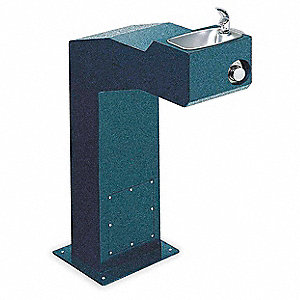 Drinking Fountain,Pedestal Mount