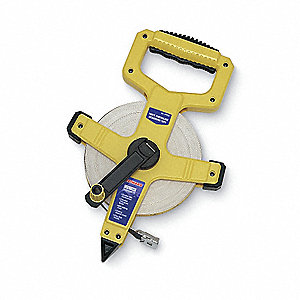 Fiberglass 100 ft. SAE Engineers Long Tape Measure