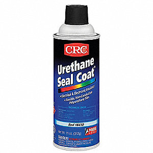Urethane Seal Coat Coating,Red,11 oz.