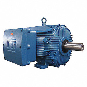 10 HP Hazardous Location Motor,3-Phase,1765 Nameplate RPM,208-230/460 Voltage,Frame 215T