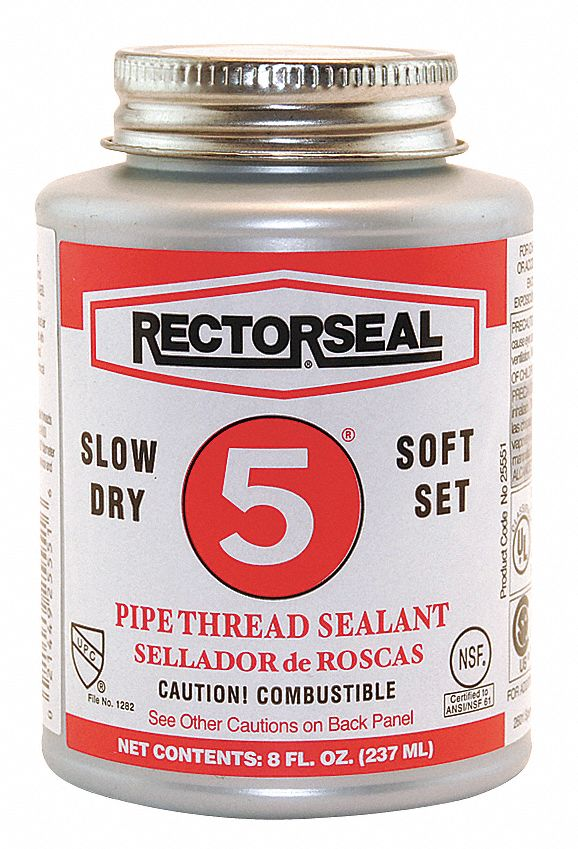 Rectorseal 8 Oz Can Pipe Thread Sealant With 2600 Psi
