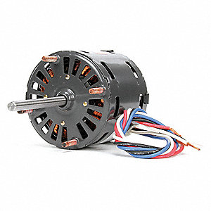 1/30 HP Direct Drive Blower Motor, Shaded Pole, 1550/1300/1050 Nameplate RPM, 115 Voltage, Frame 3.3