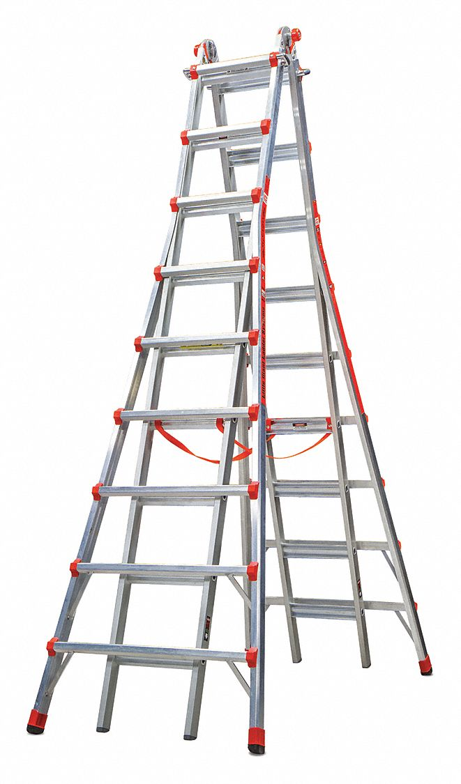 Little Giant Telescoping Step Ladder 17ft Ia Aluminum