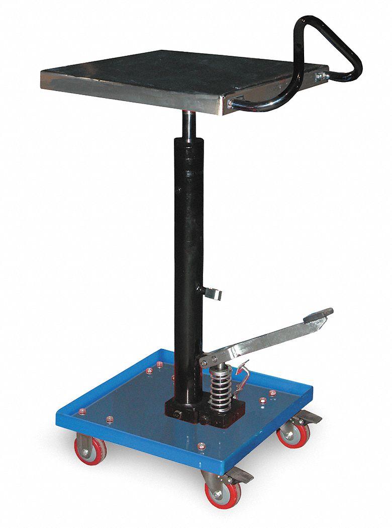 Grainger Approved Mobile Manual Lift Manual Push Lift