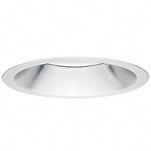 Reflector,Recessed Lighting,White,8 In