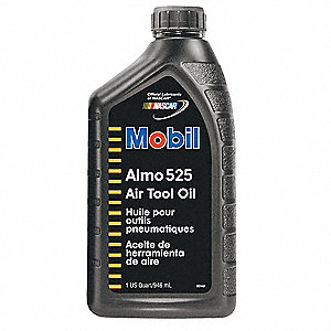 Mobil Almo 525,  Pnematic Tool, 1 qt.