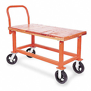 Work Height Platform Truck,1200 lb.