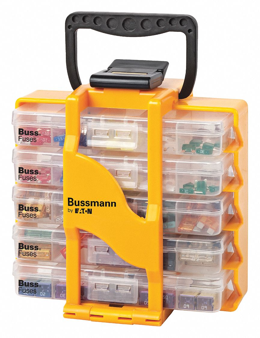 eaton bussmann automotive glass and blade fuse kit with. Black Bedroom Furniture Sets. Home Design Ideas