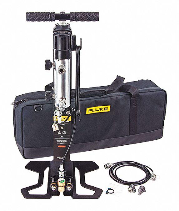 Fluke calibration test pump kit adapter fitting npt
