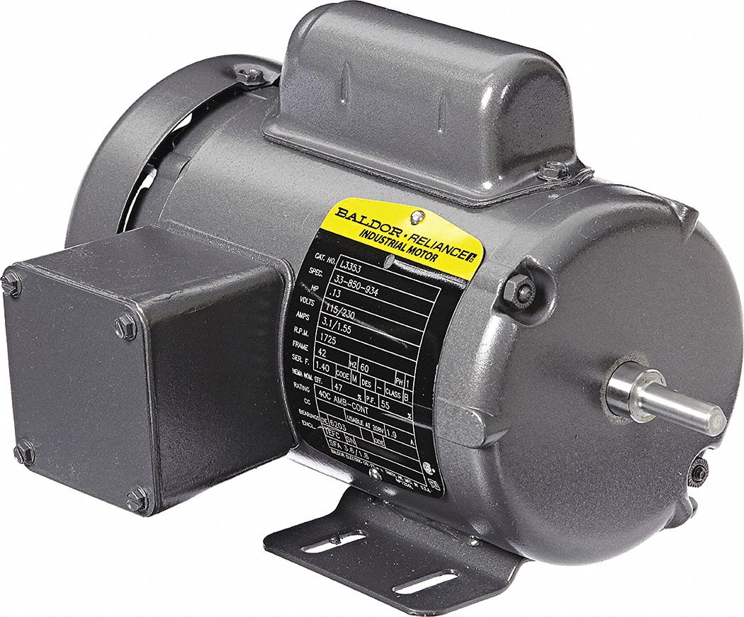 Baldor Electric General Purpose Motor 1 8 Hp 1725 Rpm