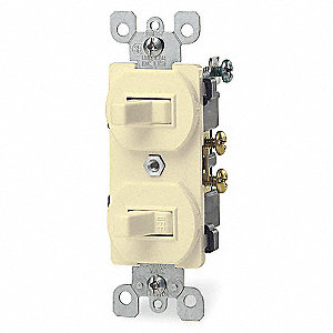 Switch,Duplex,15A,5-15R,120/277V
