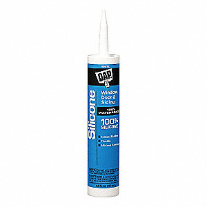 Rubber Sealant, Sealant Application: Multipurpose/Construction, 10.1 oz. Size