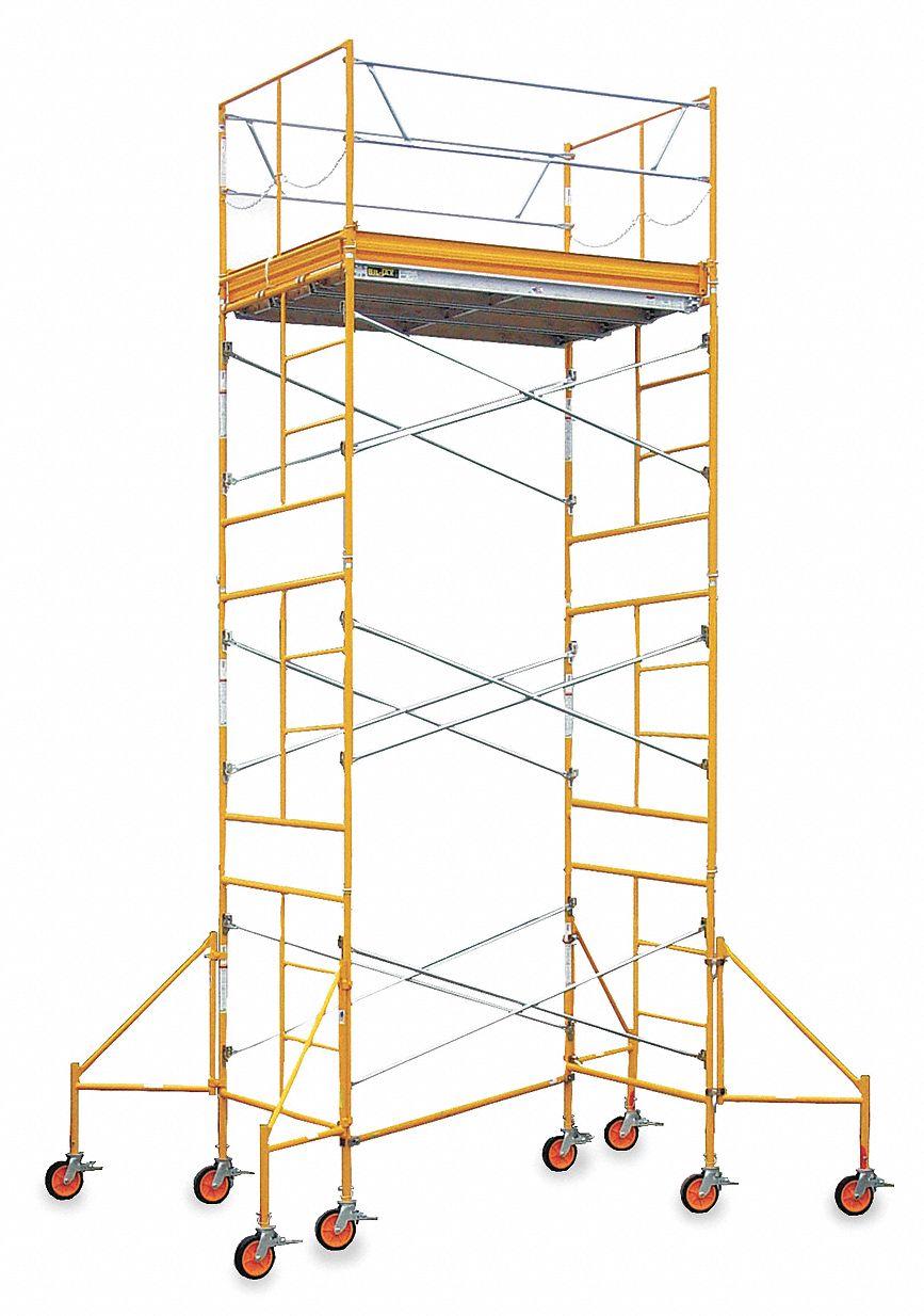 Bil Jax Scaffolding Parts : Bil jax scaffold tower ft h steel aa st ru or