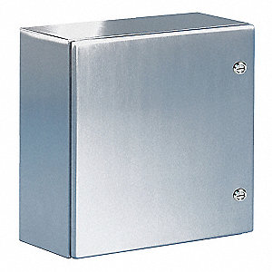 "316L Stainless Steel Enclosure, 35.40"" Height, 29.90"" Width, 11.80"" Depth"
