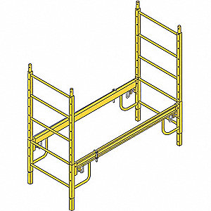 "Height Extension Kit, 69"" Height, 1/2"" Width, 6 ft. Length, 1000 lb. Load Capacity"