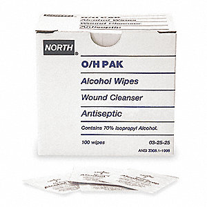 "Alcohol Prep Pads, Application: Antiseptics and Wound Care, Size: 1"" x 2"", Pouch Package Type"
