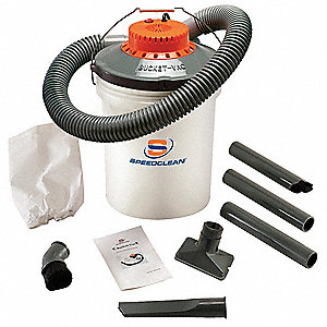 5 gal. Contractor Wet/Dry Vacuum, 1 Peak HP, 110 Voltage