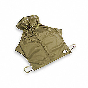 Nylon Cape,Size 28 In.,Nylon