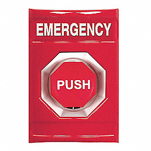 Safety Technology International Emergency Push Button