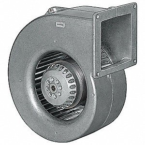 Rectangular OEM Blower With Flange, Voltage 115, 2100 RPM, Wheel Dia. 6-3/8""