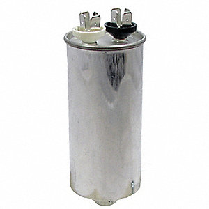 Round Motor Run Capacitor,2.5 Microfarad Rating,440VAC Voltage