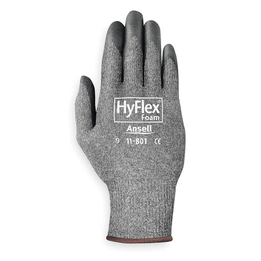 Ansell 11-801-7 Coated Gloves, S, Black/Gray, Nitrile, PR at Sears.com