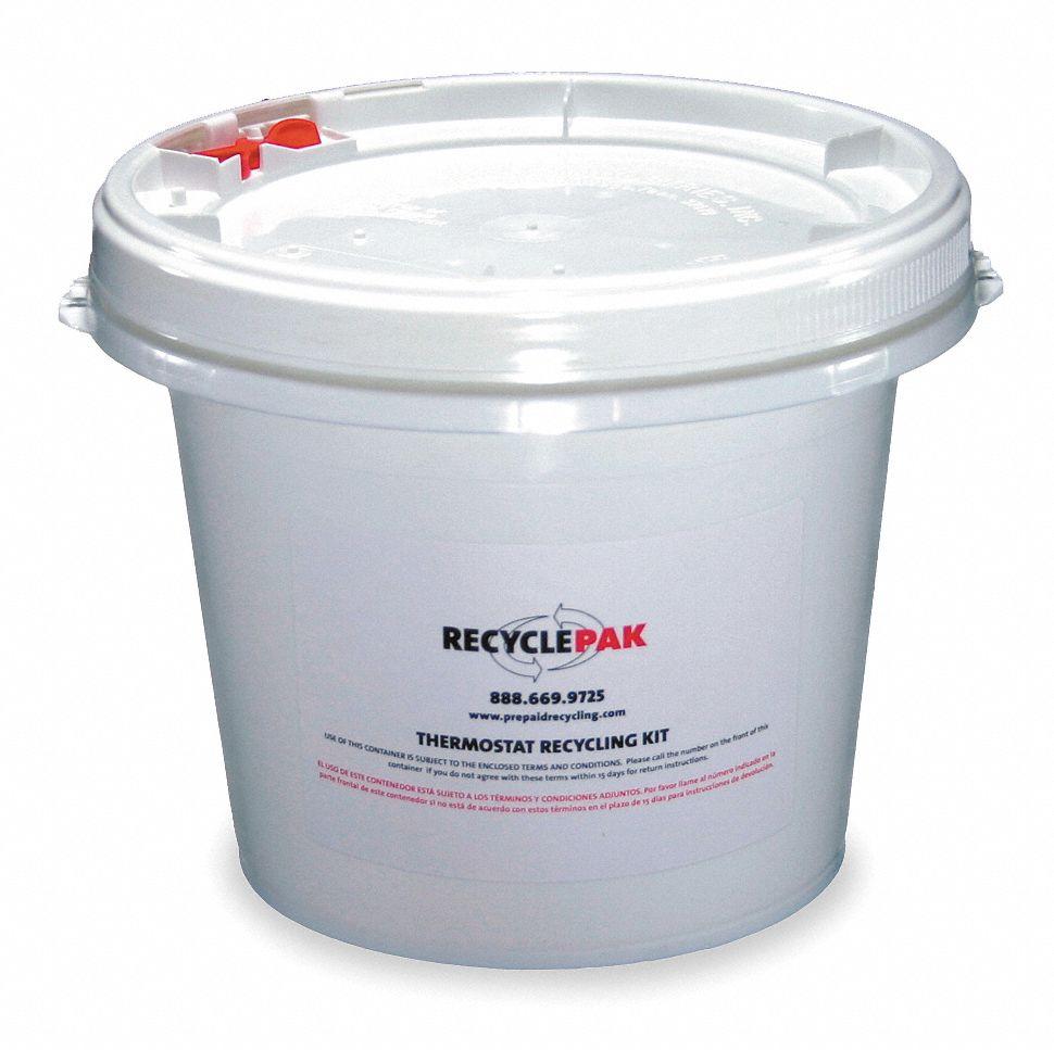 RECYCLEPAK Mercury Device Recycling Kit1 Gal
