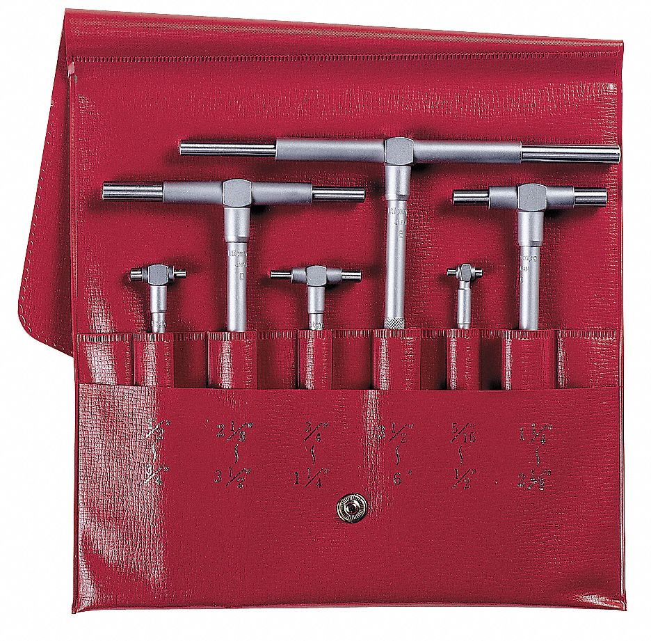 Mitutoyo Telescoping Gage Set Number Of Pieces 6 0 315