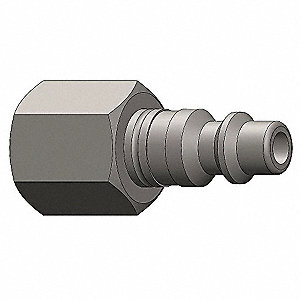 Female to Industrial Plug,(F)NPT,3/8,SS
