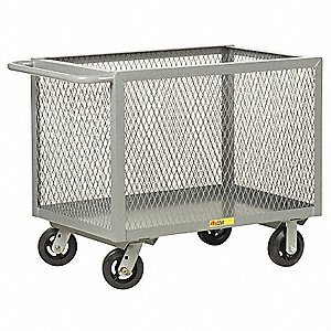 Mesh Truck,32 In. H,24 In. W,Powder Coat