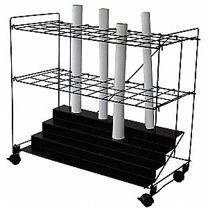 Mobile Roll File,36 Compartments