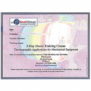 Thermography Training,Onsite,Mechanical