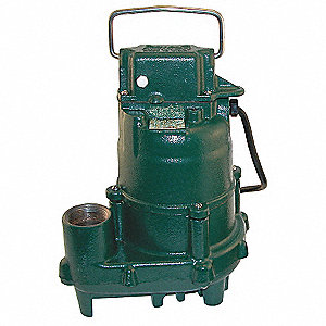 4/10 HP Submersible Effluent Pump, Manual Operation Type, None Switch Type