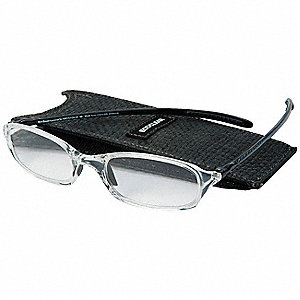 Reading Glasses,+2.0,Clear,Acrylic