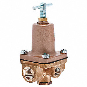 Pressure Regulator,1/2 In,3 to 50 psi