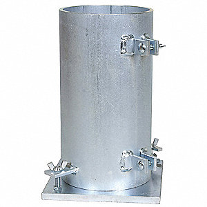 Cylinder Mold,Diameter 6 In,Height 12 In